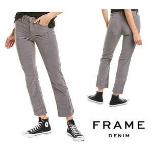 FRAME Gray Corduroy Jeans | 31